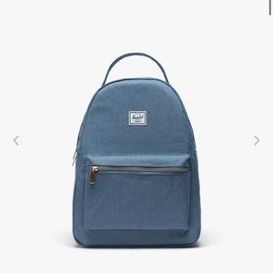NWT Herschel Nova Small Backpack Faded Denim